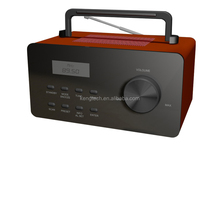 Portable AM FM DAB Radio with Clock manufacturer price CT-98