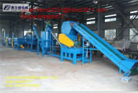 plastic waste film washing plant/pp woven bag washing line