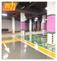 anti-static epoxy resin floor liquid self leveling floor coating