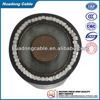 High tension armored cable(steel wire armoured )armoured PVC insulation Power cable
