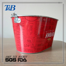 obvious metal alcohol bucket