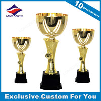 Metal Material Trophy Cup Custom Made Sports Trophies Awards Champion