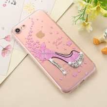 2017 new arrival Fashion diamond phone protecting soft cover case for iphone 5G/5s/SE