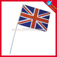 promotional hand held indoor flag pole