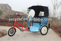 Electric rickshaw/bike taxis/pedicabs with truck