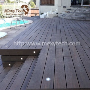 new co-extrusion wpc decking -wood texture flooring