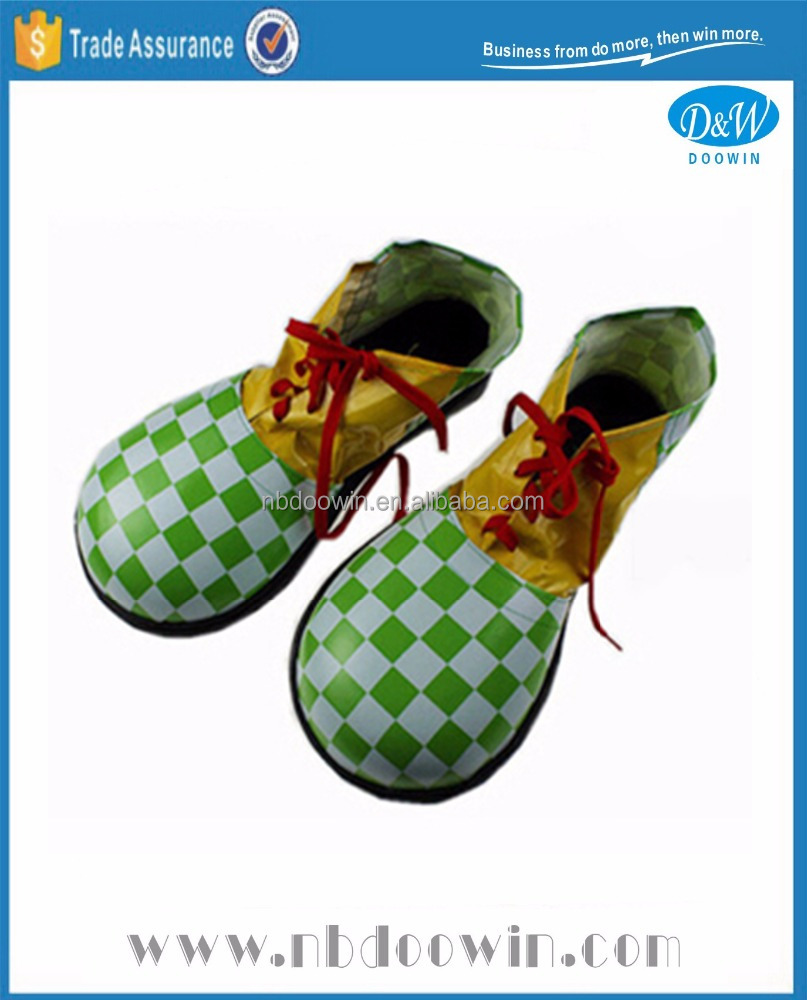 Yellow Green clown shoes for Carnival/Party