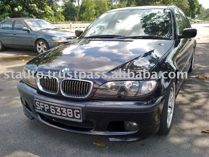 2004 BMW 318IA, Black Automobiles
