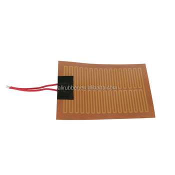 Waterproof Silicone Industrial Heated Blanket Car Heater Solar Silicone Rubber Heater For Electrical Heating
