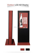 Foretell 82 Inch Floor Standing and Waterproof LCD Advertising Display for Outdoor Application