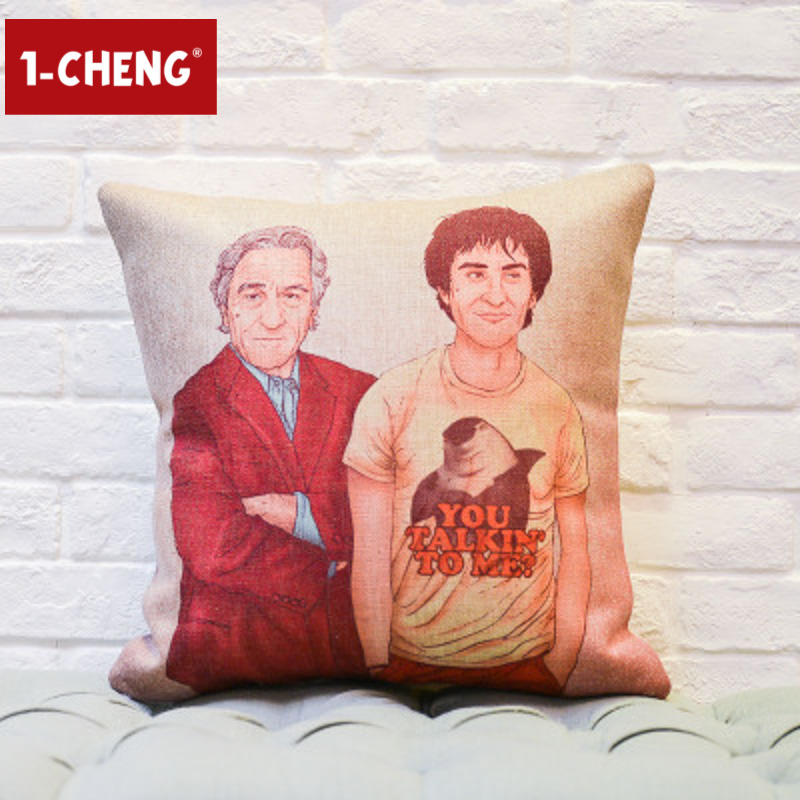Trade Assurance Houseware Character Pattern Design Custom Cushion Pillows Custom Case For Tablet