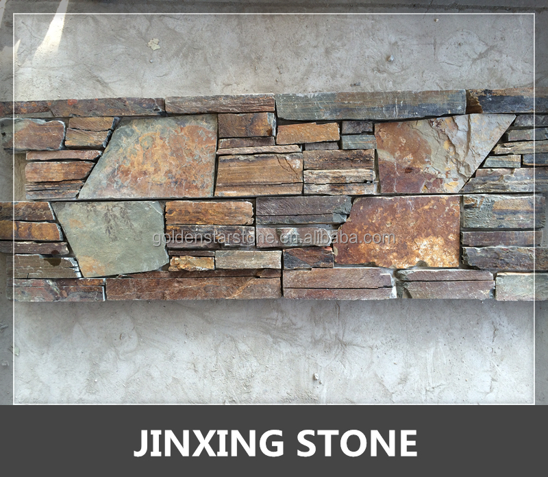 rustic cement stone wall cladding