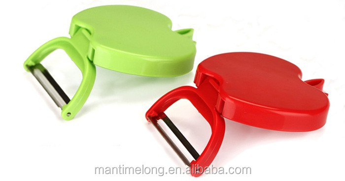 Portable travel Peeler /Creative folding apple peeler/peeler potato peeling knife plane