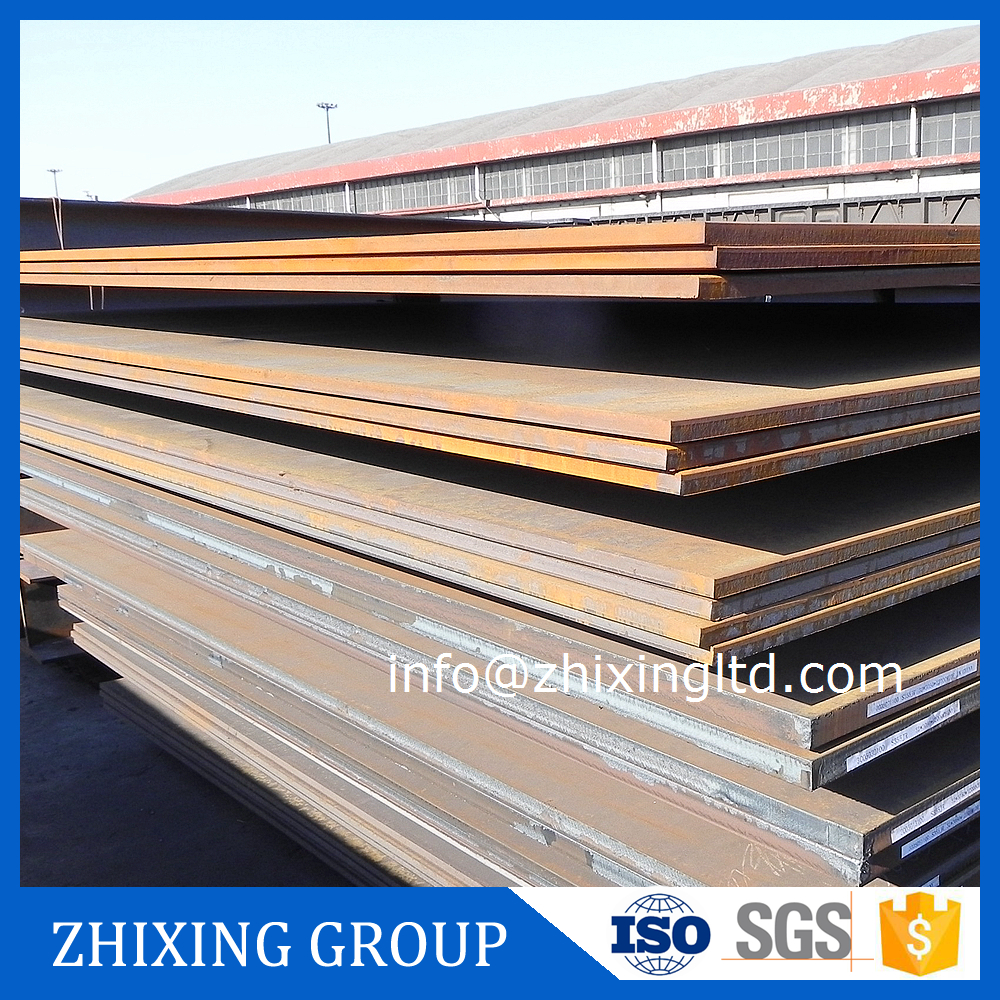 Hot rolled standard manganese steel plate
