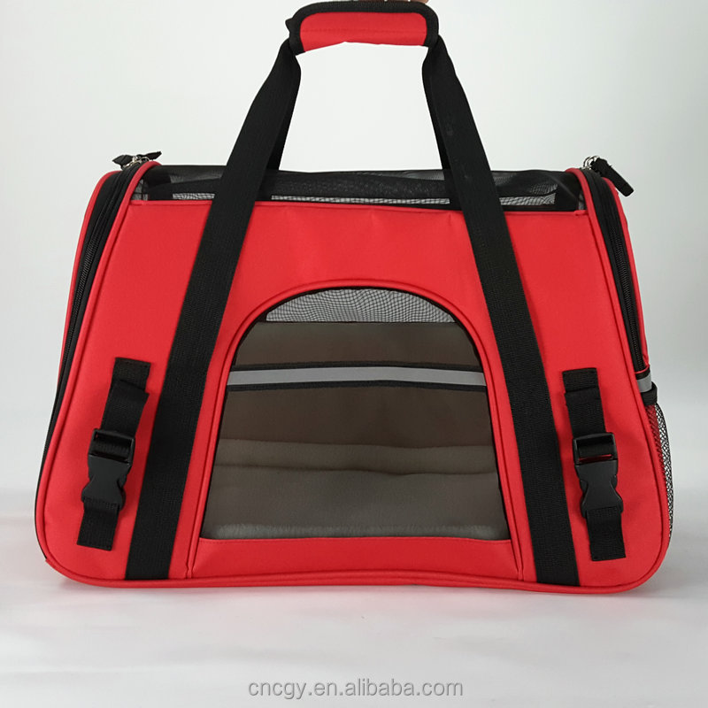 Convenient Portable Dog Carrier Bag,Soft Sided PetCarrier,Backpacks Dog Carrier