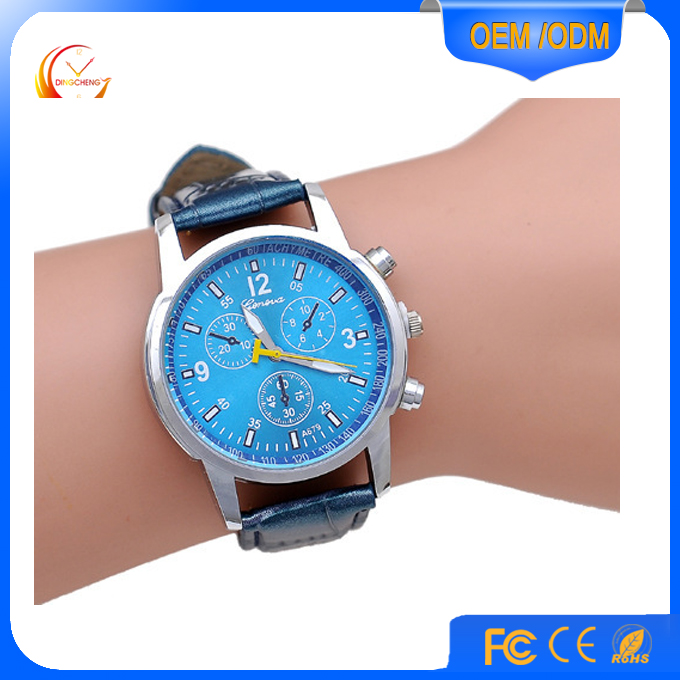 silicon men sport watch custom made clients' logo watch