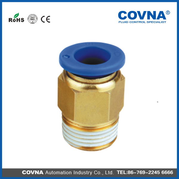 brass male connector pneumatic fittings air hose connector