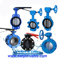 concentric fange butterfly valve
