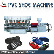 PVC Single or Double Color plastic shoe making machine