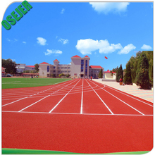 Environmental various PU synthetic rubber running track for stadium floor