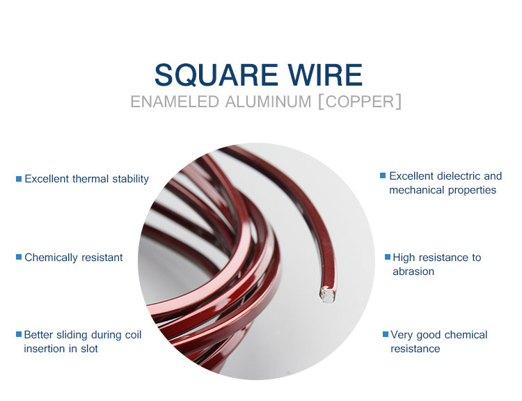 1500tons per month capacity for Enamelled aluminium magnet winding wire