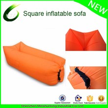 New Fast Inflatable Sleeping Air Bag Lazy Sofa Lounge Camping Bed factory cheap Beach Chair