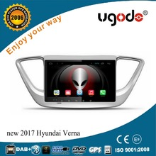 High Quality 9 inch Android car multimedia player for 2017 Hyundai verna accessories