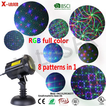 Wholesale oudoor RGB laser light Christmas Decor tree light