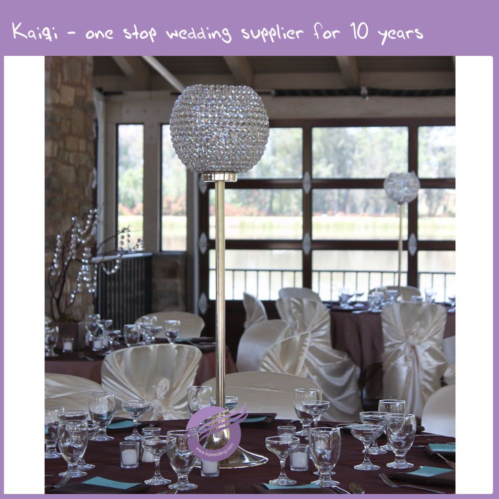 k9678 wedding decoration long-stemmed glass candle holder/candlestick for wedding centerpieces