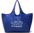 BSCI Custom Logo Printed 210D Polyester Foldable Shopping Bag Wholesale