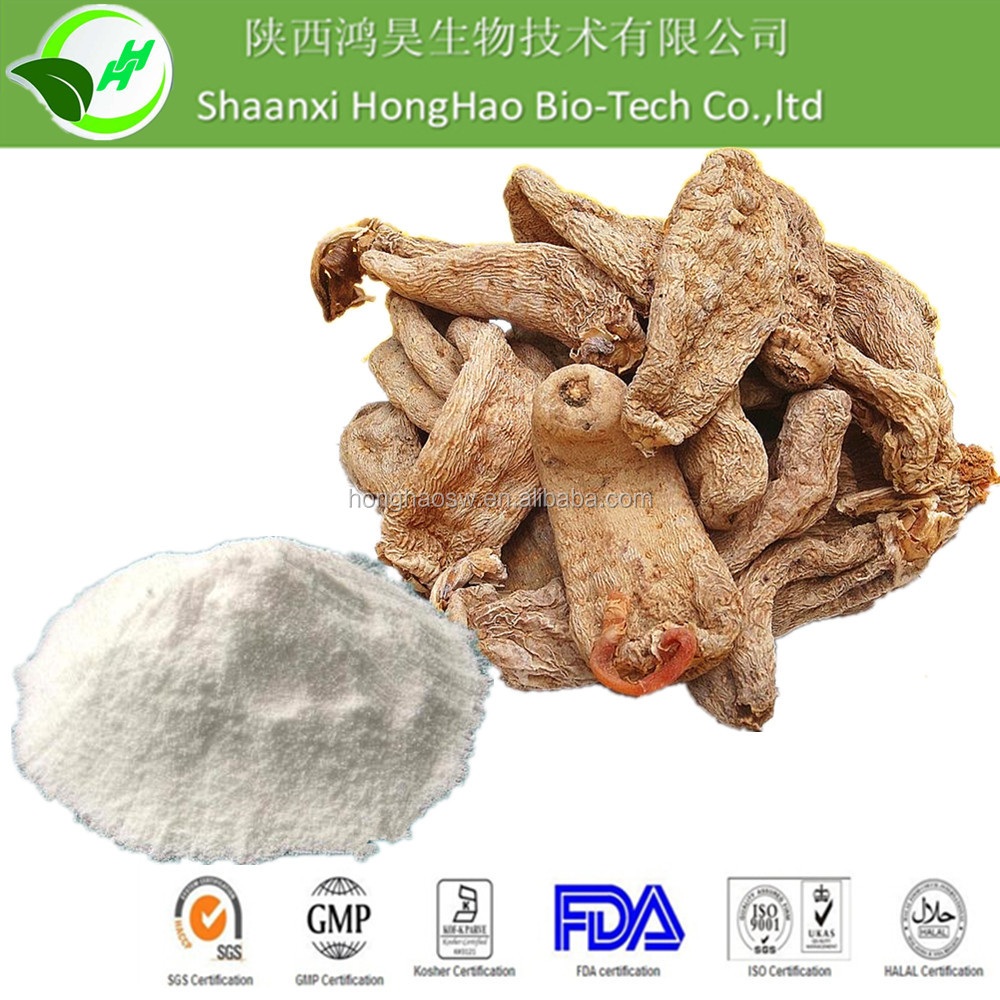 High Quality 100% Natural Gastrodia Tuber extract Wholesale/Pure Gastrodia elata extract 98% Gastrodin