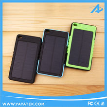 Monocrystalline Silicon Solar Panel Portable Power Bank with Strong Hanger for Travellers and Campers
