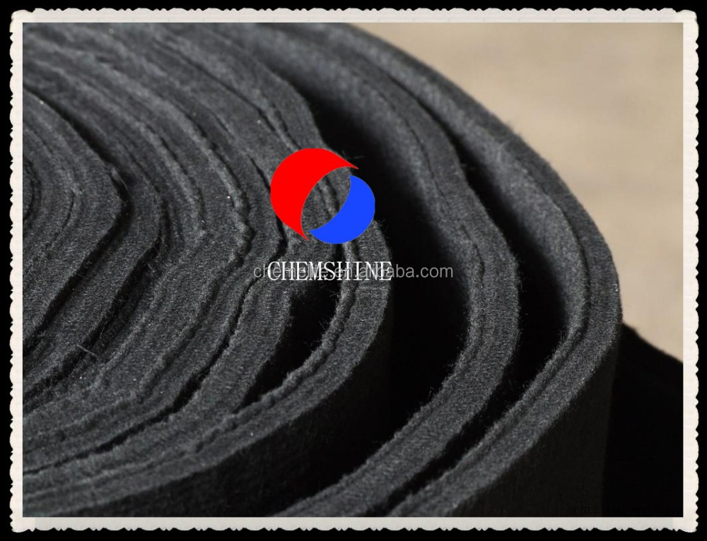 10MM Thick Rayon Based Industrial Carbon Felt