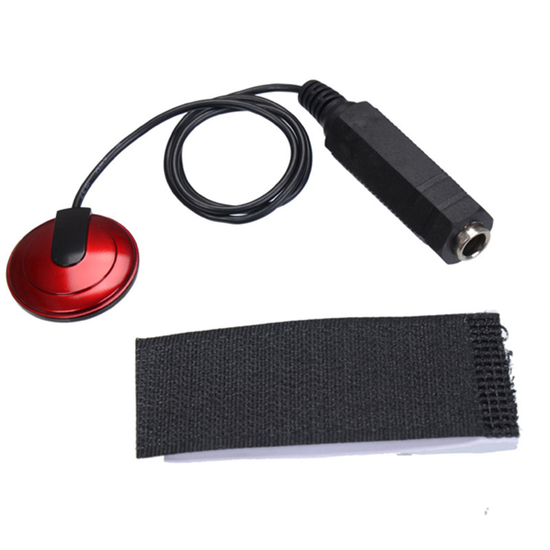 Piezo Contact Microphone Pickup for Guitar Violin Banjo Mandolin Ukulele for Musical Instrument