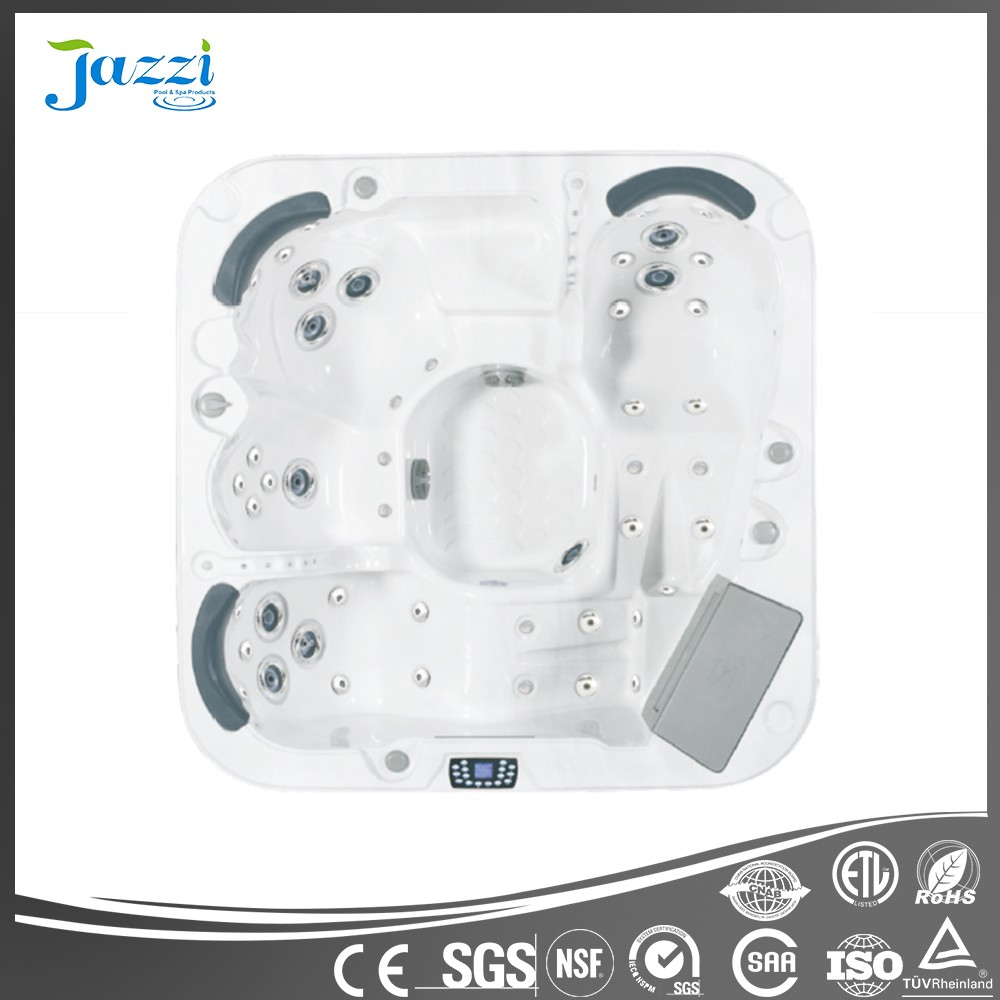 JAZZI Hot sale!! 4 adults Luxurious Outdoor Spa/Hot Tub/Bathtub with Multiple Massage for Home and Hotel SKT338B3