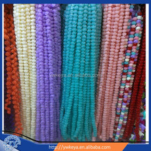 wholesale loose beads for jewelry making tulip beads , resin beads for jewelry making, tulip coral beads various colors