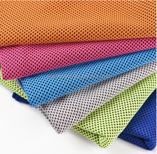 2016 hot sales multi colors 30*120cm ice cooling towel for outdoor sports