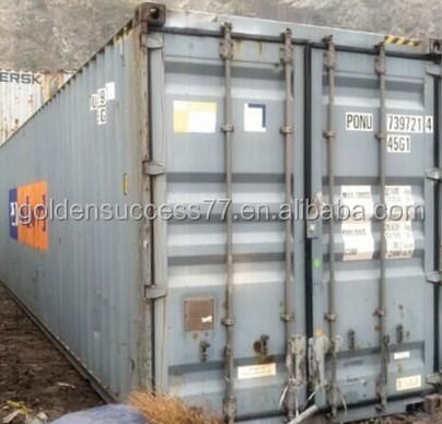 40 hq Used shipping container for sales from Tianjin port