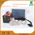 5W12V DC solar rechargeable home lighting appliances