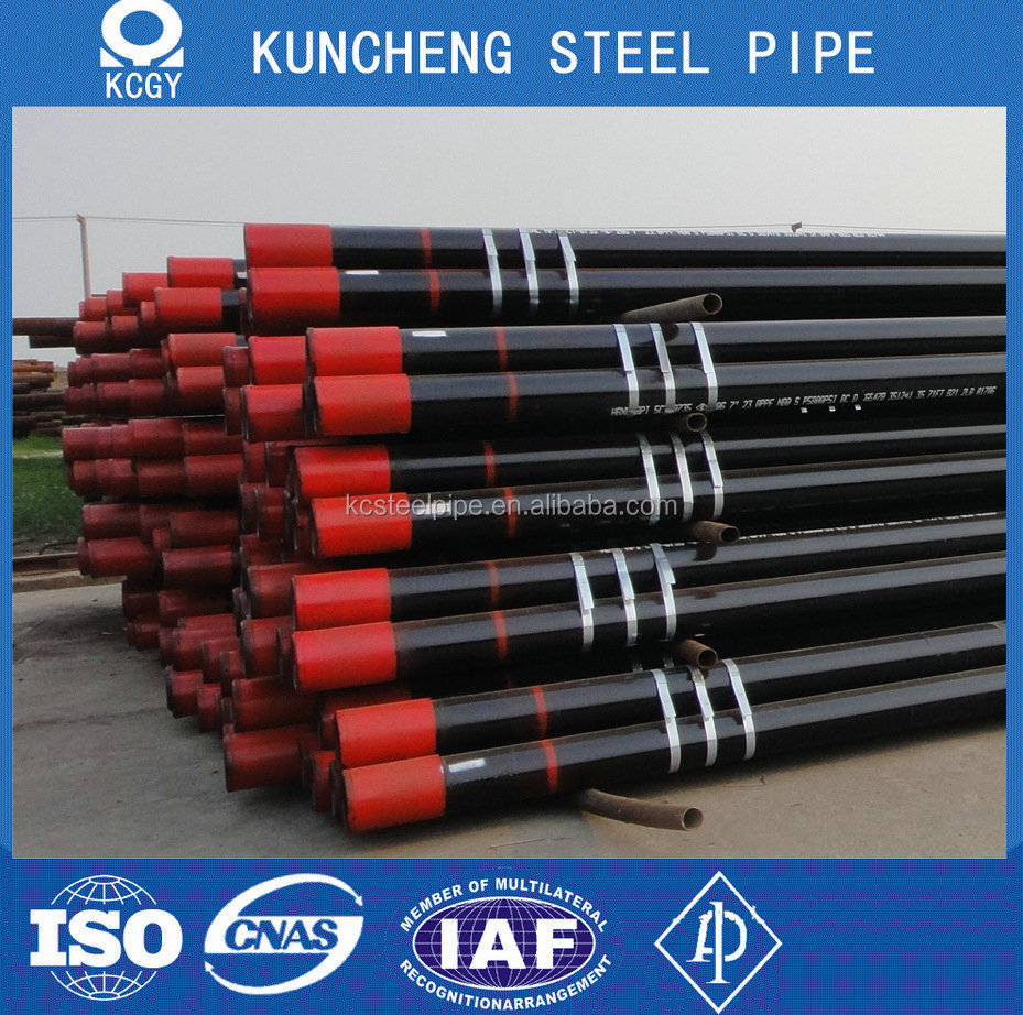 Alibaba China manufacturer 7 inch casing pipe 35Mn6J55
