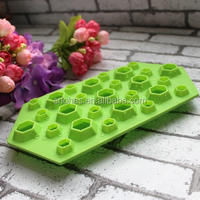 Cute Ice Tube Mold Diamond Shaped Ice Tube Silicone Tray