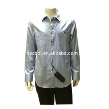 100% cotton men casual shirt