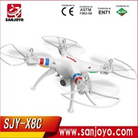 SYMA best products 4.0CH Quad Copter 6-axis gyro Radio Control helicopter 3D Rotating flying drone X8C