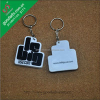 Good promotion gift low price soft pvc keyring 3d soft pvc key chains