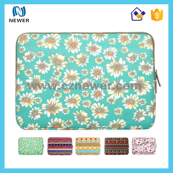 Promotional customized high quality neoprene laptop sleeves for macBook Air