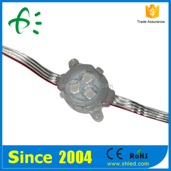 DC 12V 3 Years Warranty IP67 30mm Full Color LED Pixel Light