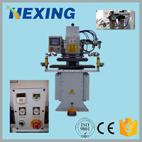 2016 Best Quality Hot Foil Stamping Die Cutting Machine for PE,Hot Branding Flated Bed Printer for Rubber