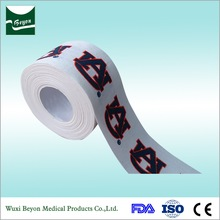 rigid printed adhesive sports strapping tape