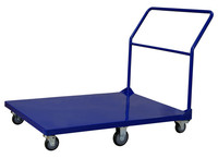 Material handling logistics platform cart/warehouse foldable hand trolley YLD-FT008