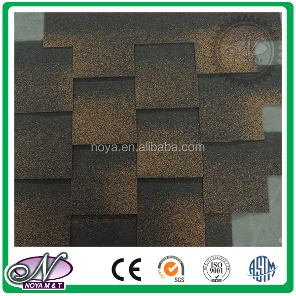 Decoration of slope roofing waterproofing coloured asphalt shingle roof coating for wholesales